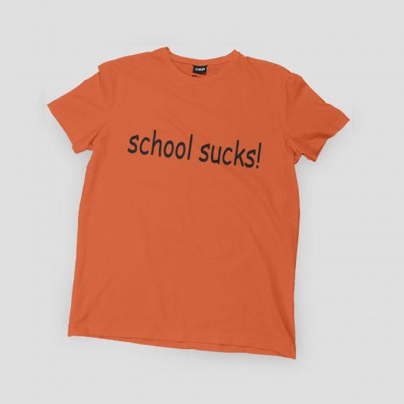 SCHOOL-SUCKS_narancasta